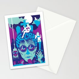THE ROOTS OF HORROR ROCK :: THE CRAMPS Stationery Cards