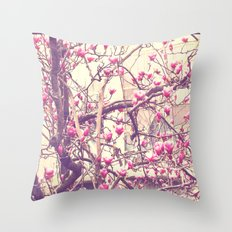 Magnolia 2 Throw Pillow