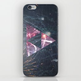 fiyah worx iPhone Skin