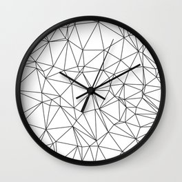 Triangular Deconstructionism Wall Clock