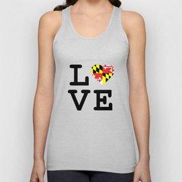 Love Maryland Unisex Tank Top