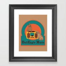 BullEagle Framed Art Print