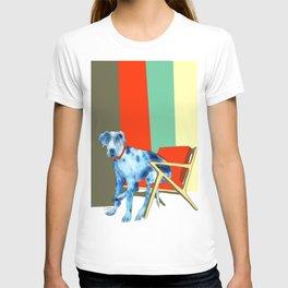 Great Dane in Chair #1 T-shirt