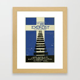 The Exorcist Framed Art Print