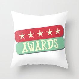 Stars and awards Throw Pillow