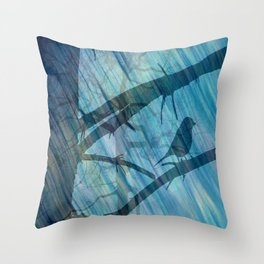 Singing lesson Throw Pillow
