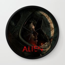POSTER ALIEN Wall Clock