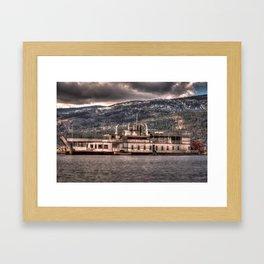 Sternwheeler  Framed Art Print