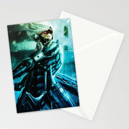 Raiden Metal Gear Solid Stationery Cards
