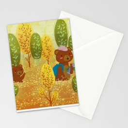 Thousands of flowers bloom Stationery Cards