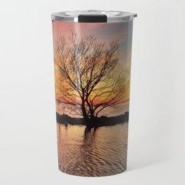 Rainbow Tree Travel Mug