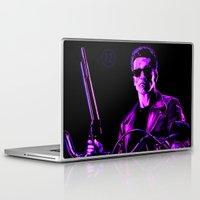 terminator Laptop & iPad Skins featuring Terminator (T2) by Ambady
