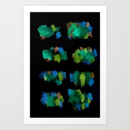 160122 Summer Shadows #79 Art Print