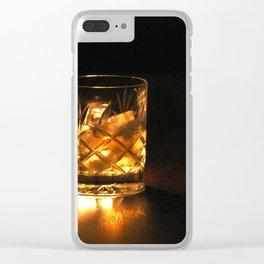 Scotch in the dark Clear iPhone Case