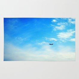Airplane Landing Rug