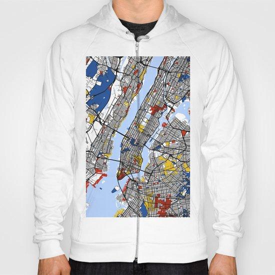 New York Mondrian Hoody