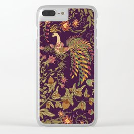 Birds of Paradise. Colorful illustration. Clear iPhone Case