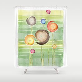 Blooms festival (of flowers and feelings) Shower Curtain