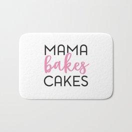 Mama Bakes Cakes Bath Mat