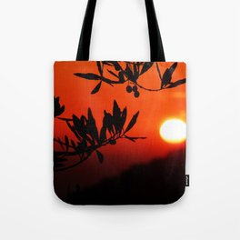 Italian Sunset Tote Bag
