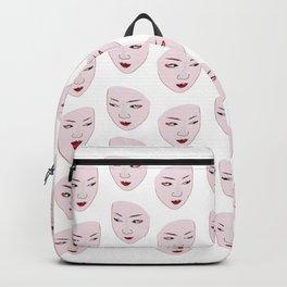 Geisha mask Backpack
