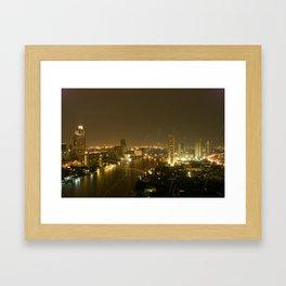 Chao Phraya Framed Art Print