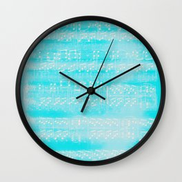 Schubert Sheet Music - Impromptu (v2) Wall Clock