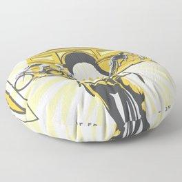 Le Grande Boucle Tour de France Floor Pillow