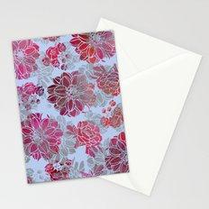 Flower Pattern Design Stationery Cards