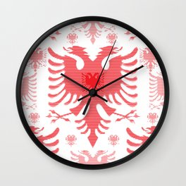 Eagles / Paterns / Creation / Composition Wall Clock