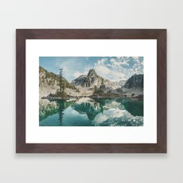 Watersprite Lake Framed Art Print