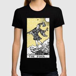 Geometric Tarot Print - The Fool T-shirt