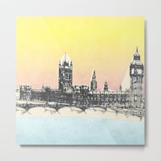 Westminster, London, England Metal Print