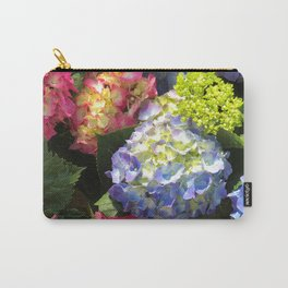 Colorful Hydrangea Flowers Carry-All Pouch