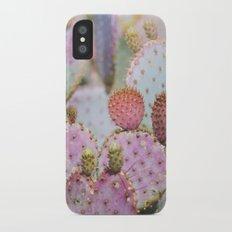 Cotton Candy Cacti iPhone X Slim Case