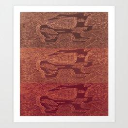 "Charred 2 ""Organic"" Art Print"