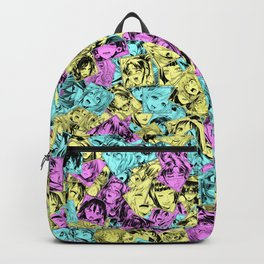 CMYK colors ahegao Backpack