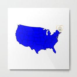 State of Rhode Island Metal Print