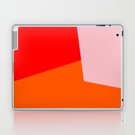 red orange pink Laptop & iPad Skin