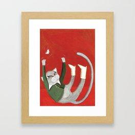 Cat Framed Art Print