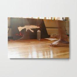 AK_spray Metal Print