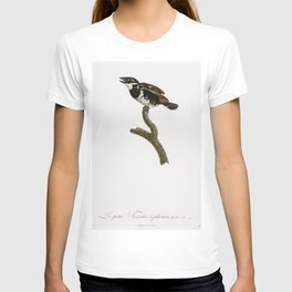 Little Tamatia from Histoire Naturelle des Oiseaux de Paradis et Des Rolliers (1806) by Jacques Barr T-shirt