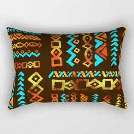 Bold Ethnic pattern n.5 Rectangular Pillow