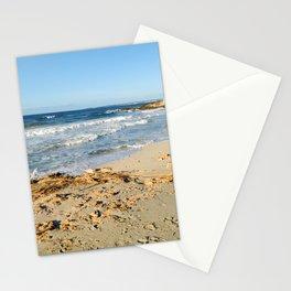 Beach Playa de Ses Covetes. Mallorca Spain Stationery Cards