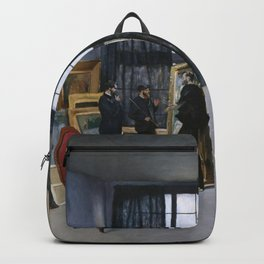 Frederic Bazille - Bazille's Studio Backpack