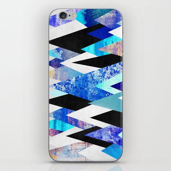 Blue Peaks iPhone & iPod Skin