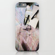 Trip planning iPhone 6s Slim Case