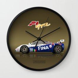 1996 McLaren F1 GTR #16R FINA Wall Clock