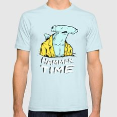 Hammer Time X-LARGE Light Blue Mens Fitted Tee