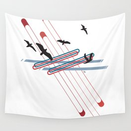 Fly Away Home Wall Tapestry